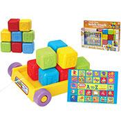 Pull Along Brick Truck With Blocks