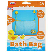 Tidy Bath Duck Bag With Toy