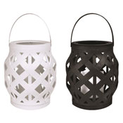 Lattice LED Lantern