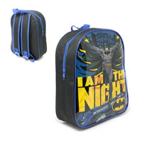Official Batman I am the Night Character Backpack