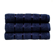 Luxury Egyptian Cotton Hand Towel Navy