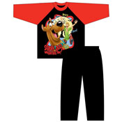 Boys Scooby Doo Cartoon Pyjamas