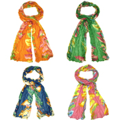 Assorted Balearic Scarves Flowers