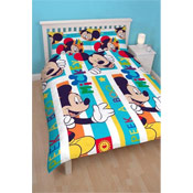 Mickey Mouse 'Boo' Double Duvet Set