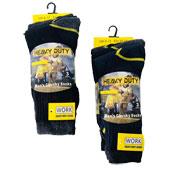 Mens 3 Pairs Work Socks Heavy Duty