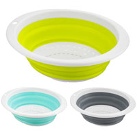Collapsible Oval Silicone Colander