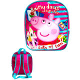 Official Peppa Pig Premium Backpack Rainy Days