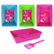Cat Litter Tray With Scoop