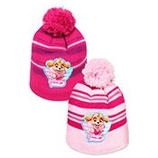 Childrens Paw Patrol Hat With Pom Pom
