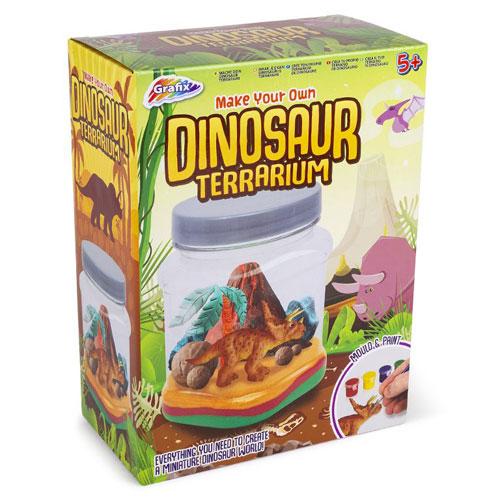 Make Your Own Dinosaur Terrarium