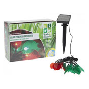 Leaf Design Multicoloured Solar Lights