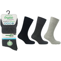 Mens Wellness Organic Cotton Socks London