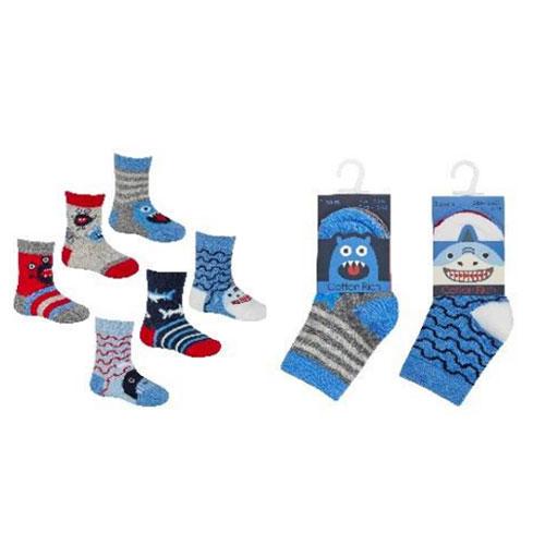 Baby Boys Novelty Shark Socks