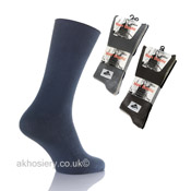 Mens Lycra Non Elastic Socks with Hand Linked Toe