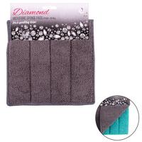 Diamond Microfibre Sponge Pads 2 Pack