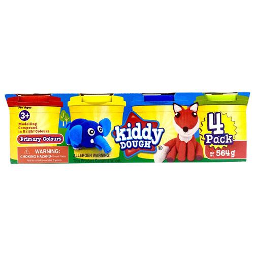 Kiddy Dough 4 Pack
