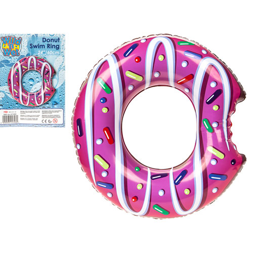 Inflatable Donut Swim Ring 24 Inch