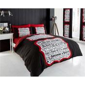 Sleep Time Duvet Sets Red