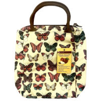 Butterfly Cooler Lunch Bag With Handle