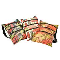 Leaf Design Shoulder Bag 3 Assorted