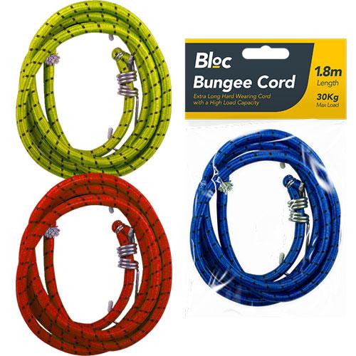 Hard Wearing Bungee Cord 1.8m