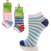 Sport City Trainer Socks Light Stripes
