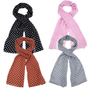 Assorted Small Spot Scarf