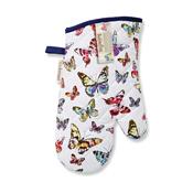 Butterflies Gauntlet Oven Glove