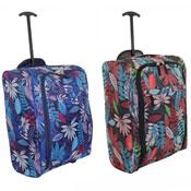 Lightweight Flower Print Cabin Bag