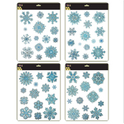 Snowflake Glitter Window Stickers