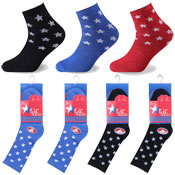 Stars Design Kids Novelty Socks