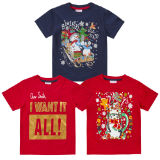Infant Christmas Printed T-Shirts Assorted