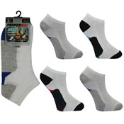 Mens Performax Trainer Socks Two Colour Bottom