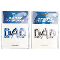 Dad Foil Balloon Pack