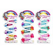 Kids Design Hair Clips 6 Pack