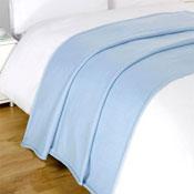 Snug and Cosy Blue Fleece Blanket