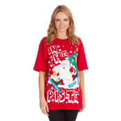 Christmas T-Shirt Red Piste