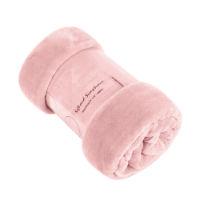 Premium Mink Faux Fur Throw Pink