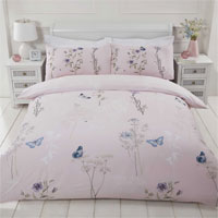 Laura Pink The Home Duvet Set