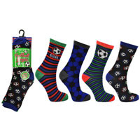 Chidrens Football Design Socks