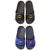 Superman & Batman Pool Side Flip Flops