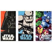 Star Wars & Avengers Beach Towels