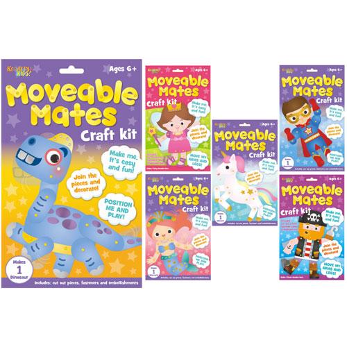 Moveable Mates Craft Kits