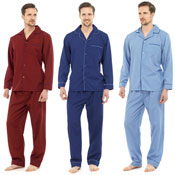 Mens Pyjamas Plain
