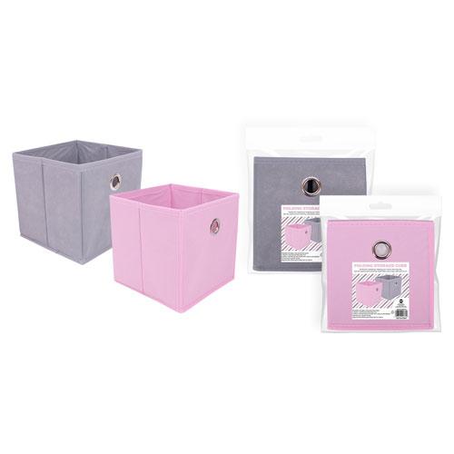 Non Woven Folding Storage Cube