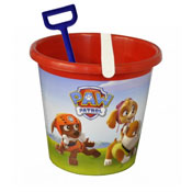 Paw Patrol Red Bucket With Spade