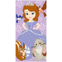 Official Disney Princess Sophia Beach Towel