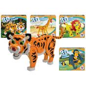 Wild Animal Foam Puzzle Sets