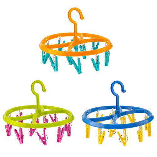 12 Peg Round Clothes Hanger