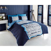 Sleep Time Duvet Sets Blue